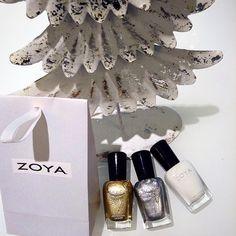 ZOYA Loves Glitter, Sparkling, Gold, Silver, White and Winter