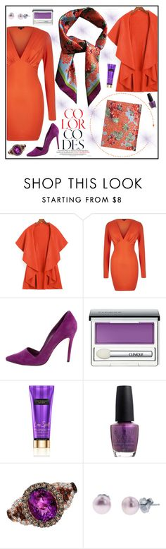 """""""LISAN LY"""" by gaby-mil ❤ liked on Polyvore featuring Alice + Olivia, Clinique, OPI, LE VIAN and Honora"""