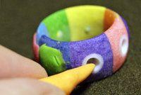 Урок — кольцо без металлической основы: polymerclayfimo