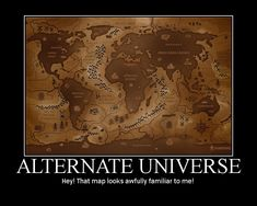 Alternate Universeposted by Heliomance