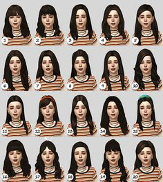 The Sims 4 Pc, Sims 4 Mm, Toddler Cc Sims 4, Sims 4 Nails, Sims Videos, Sims 4 Black Hair, Sims 4 Cc Kids Clothing, Sims 4 Children, Sims 4 Characters