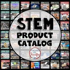 Catalog: This file is a super way to help you navigate all the STEM products found right here at Teachers Are Terrific!The huge array of STEM challenges in my store can be overwhelming! So, where do you begin? Try this catalog! You will find so many things that will help you decide which challenges are right for you and your students!