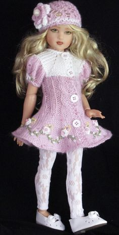 Helen Kish 12 inch Dolls Handmade Outfit