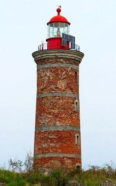 Mohni #lighthouse 1871 - Mohni island, #Estonia http://dennisharper.lnf.com/