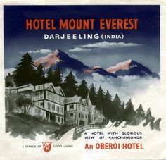 This was the first place I ever stayed at in Darjeeling. Sadly destroyed by fire some years ago.