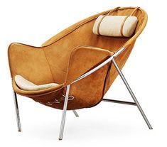 #chair #armchair | ERIK OLE JÖRGENSEN, fåtölj, Bovirke, 1950-tal.. - Contemporary, Stockholm 564 – Bukowskis