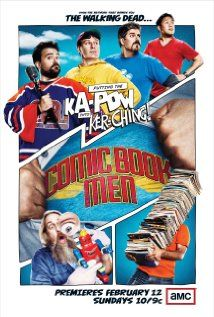 Comic Book Men is a one-hour unscripted television series set inside Kevin Smith's comic book shop Jay and Silent Bob's Secret Stash in Red Bank, New Jersey.