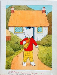 Rupert the bear. miss this show   miss the 90s