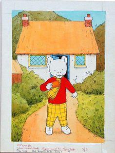 Rupert the bear.