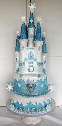 Frozen Castle Cake                                                       …