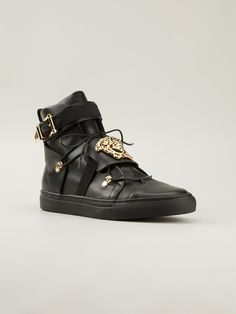 Versace 'medusa' Hi-top Sneakers -