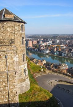 View from the Citadel of Namur, Belgium.