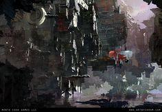 The Dark Tower by Dimitar Tzvetanov - chrom on ArtStation.