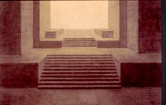 Adolphe Appia: rythmic spaces.  Appia's genius of light and space.