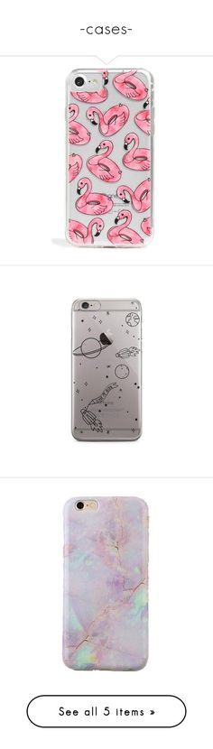 """-cases-"" by danielasilva12 ❤ liked on Polyvore featuring accessories, tech accessories, phones, phone cases, celular, cases, pink, iphone cover case, transparent iphone case and galaxy iphone case"