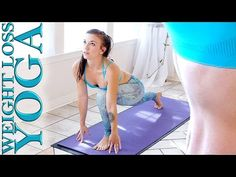 Morning Yoga for Weight loss & Fat Burning, Beginners to Intermediate Yoga Workout - YouTube