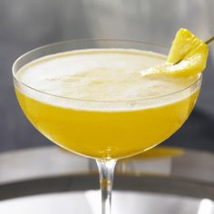 Grey Goose Passion of France  2 parts Grey Goose® Vodka  1/3 part vanilla flavored (Monin) syrup  1 fresh passion fruit  3 small fresh pineapple chunks  Fresh lemon squeeze