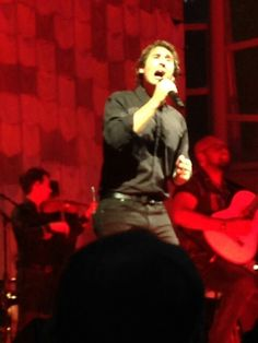 Josh Groban in Cary, NC on his 2014 summer tour.