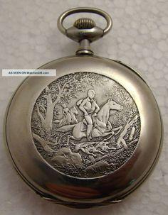 Antique Swiss Men ' S Pocket Watch Constant Meyer G105 photo 4