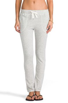 The Lady & the Sailor Pocket Sweat Pant in Grey Terry