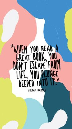 Julian Barnes on books I Love Books, Good Books, Books To Read, My Books, Reading Quotes, Book Quotes, Me Quotes, Reading Books, Ernst Hemingway