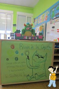 Rincón de la calma. Genial idea para trabajar con los alumnos en clase. Preschool Education, Preschool Curriculum, Kindergarten Activities, Classroom Art Projects, Classroom Decor, Social Emotional Activities, Spanish Posters, Bon Point, Kids Up