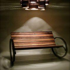 Pant Rocking Bench by Shiner International.
