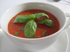 Vasárnap 1: Paradicsomleves Thai Red Curry, Ethnic Recipes, Food, Essen, Meals, Yemek, Eten