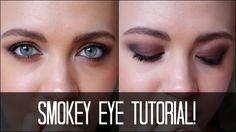 Smokey Eye Tutorial - Makeup For Beginners
