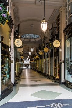 Piccadilly Arcade ~ runs between Piccadilly and Jermyn Street, opened 1909