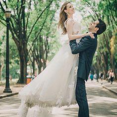 No dia 3 de março a nossa noiva bailarina Re Floret comemorou sete anos de namoro com o seu amado, felicidades ao casal!  Wedding Dress Atelier Carla Gaspar, foto Renata Xavier.