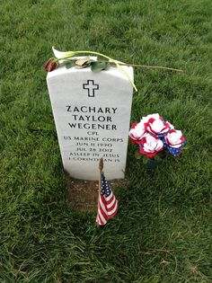 Zachary Taylor Wegener, Cpl U.S.M.C. Arlington National Cemetery, Memorial Day 2016