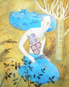 painting by sabina botti