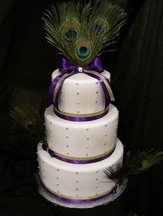 Peacock Wedding Cake from CakesDecor.com