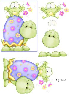 tortue would make a cute applique quilt for baby boy.
