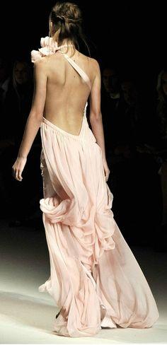 fashion backless dress