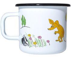 Muurla Moomin Sniff Enamel Mug by Muurla, http://www.amazon.co.uk/dp/B0081H71ME/ref=cm_sw_r_pi_dp_QSJisb0Z49QYC