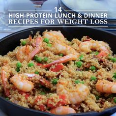 Maintain healthy muscles from all that working out with these14 High Protein Lunch and Dinner Recipes for Weight Loss. #weightloss #highproteinrecipes #healthyrecipes
