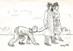René Magritte - Promenade à trois Rene Magritte, Funny Valentine, Mardi, Magazine, November 8, Drawing Drawing, Brogue Shoe, Room