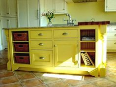 Dishfunctional Designs: Upcycled: Awesome Kitchen Islands Made From Old Dressers