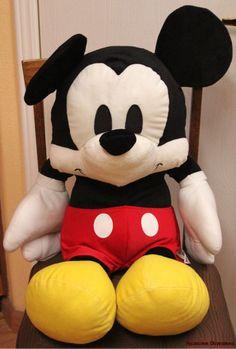 Moldes gratis para hacer peluche de Mickey Mouse