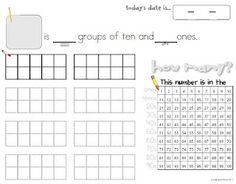 Decomposing numbers can be part of our calendar routine!