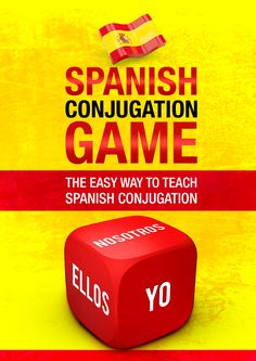 A fun and engaging game to pratice Spanish Conjugation