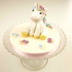 When it comes to girls' celebration cakes, it doesn't get much more perfect than a whimsical unicorn with a rainbow mane! Celia Adamsof Bath Cake Company is an award winning cake designer anda Paul BradfordAccredited Tutor. Shehas createda freerainbow unicorn modelstep-by-stepguide especially for you guys! We hope you enjoy creating this sweet model - don't…