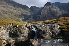Fairy Pools and Coire na Creiche (Walkhighlands). Skye
