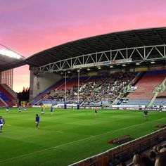 DW Stadium in Wigan