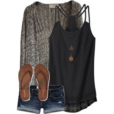 Love the back on this tank, and how flowy it is. I love layering under great textured cardigans like this one. And that necklace is beautiful