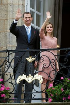 MYROYALS &HOLLYWOOD FASHİON - King Felipe and Queen Letizia visited the Cathedral of Santiago de Compostela on the first anniversary of the train accident in Santiago de Compostela, Spain.