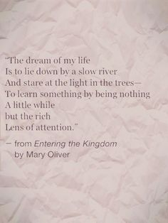 Image result for mary oliver forest