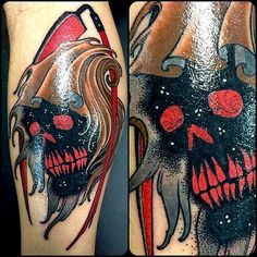 Tattoo done byCurt Baer. @Debby Curtis Baer